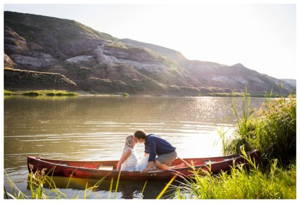 Drumheller Engagement Photography | Marc & Kristine | Calgary Engagement Photographer