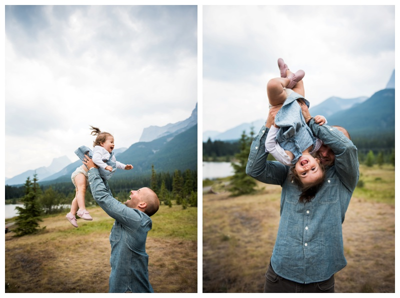Dad & Daughter Family Photos Canmore