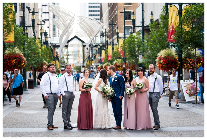 Stephen Ave Wedding Photography Calgary