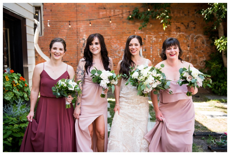 Wedding Party Photography Calgary - Bridesmaid Photos