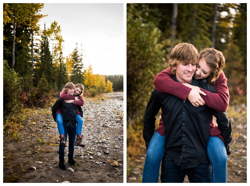 Autumn Engagement Photography Calgary