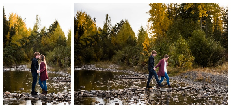 Autumn Engagement Photos Calgary