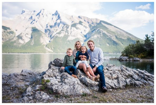 Rocky Mountain Lake Family Session | The Loucks | Banff Family Photographer
