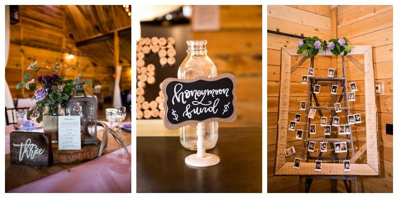 Barn Wedding Details - Willow Lane Barn
