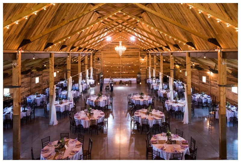 Barn Wedding Reception - Willow Lane Barn