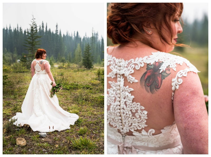 Bridal Portrait - Canmore Wedding