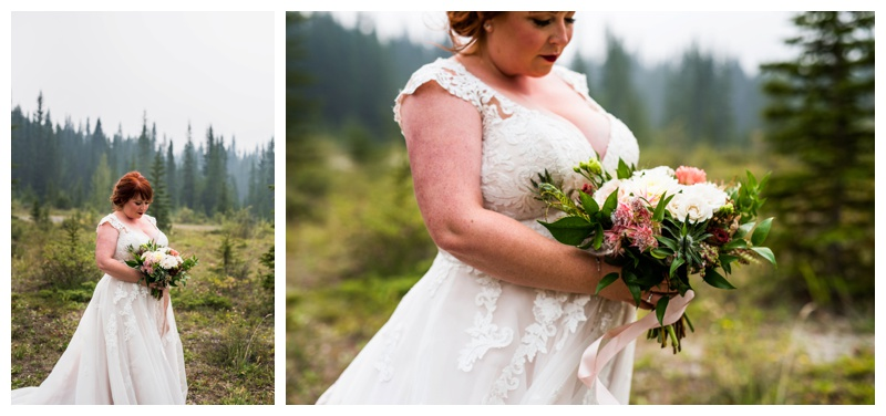 Bridal Portraits - Canmore Wedding