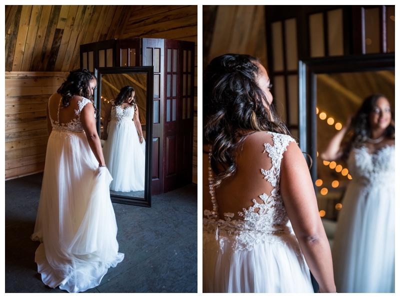 Bridal Portraits - Willow Lane Barn
