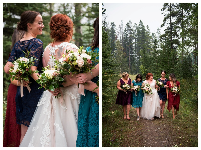 Bridesmaid Photography - Canmore Wedding Photographer