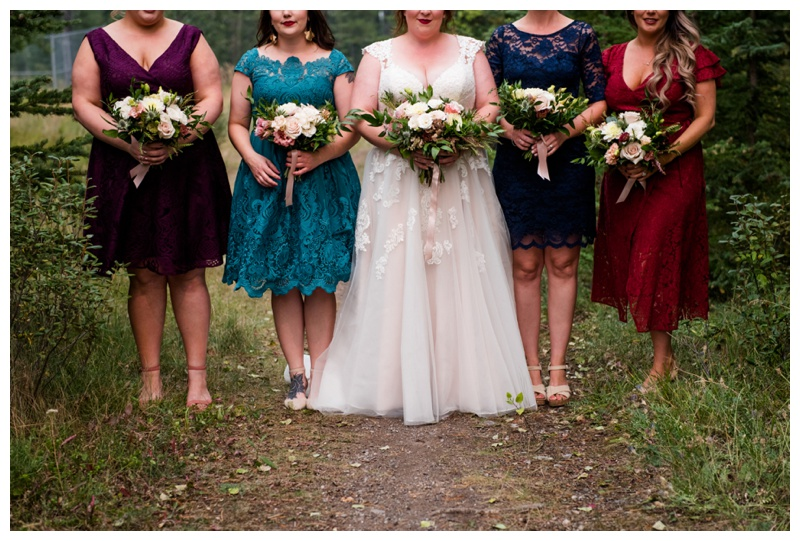 Bridesmaid Photos - Canmore Wedding