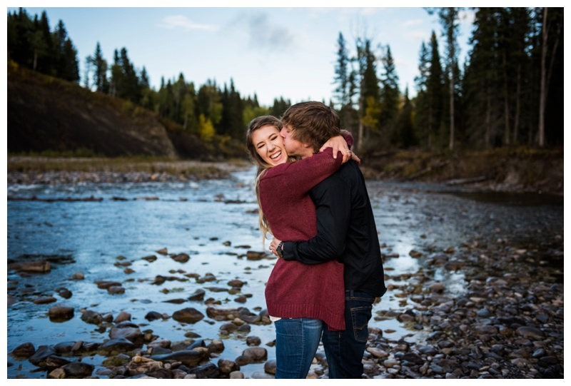 Calgary Autumn Engagement Photography