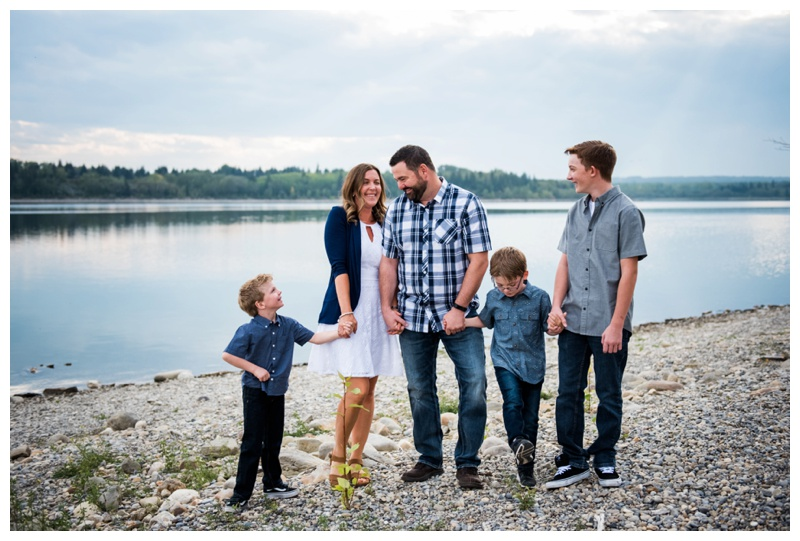 Calgary Family Photographers - Glenmore Reservoir
