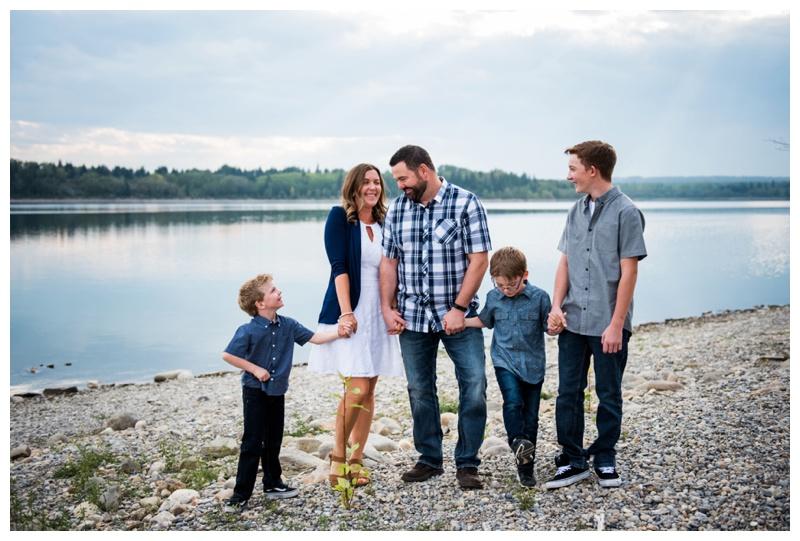 Calgary Family Photographers - Glenmore Reservoir