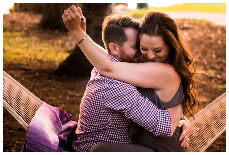Calgary Golden Hour Engagement Photography