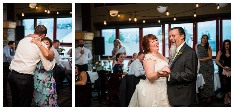 Canmore Restaurant Wedding Reception Photos