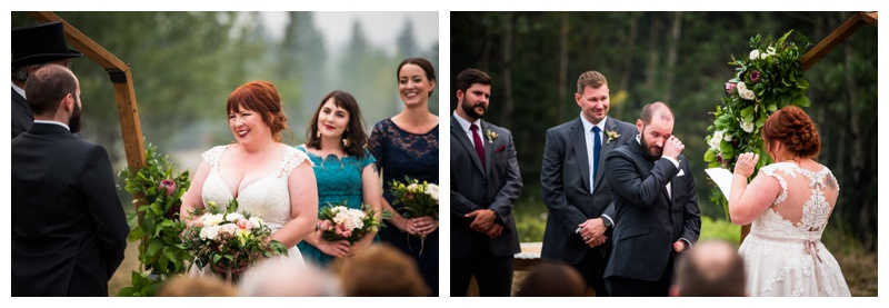 Canmore Wedding Ceremony - Rundle View Park