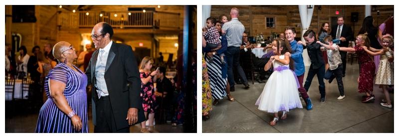 Dance Candids - Willow Lane Barn Wedding Photography