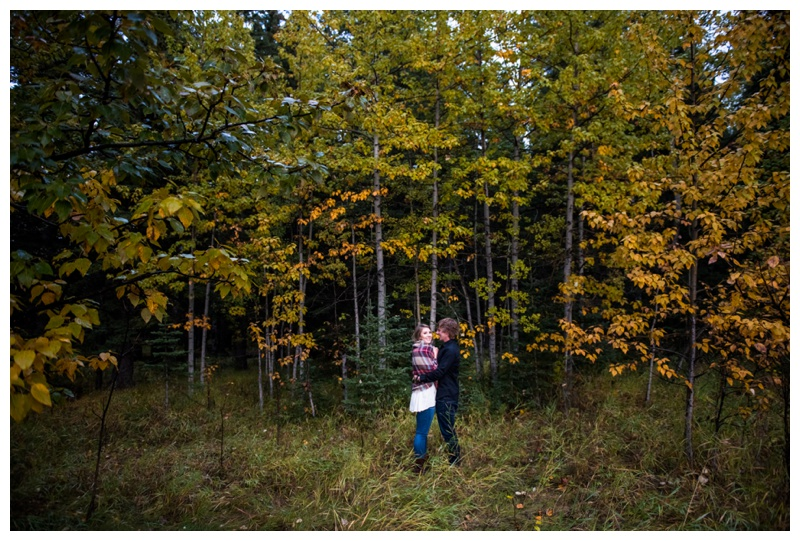 Autumn Bragg Creek Engagement Session