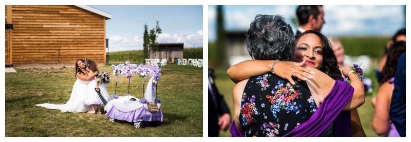 Farm Weddings -Willow Lane Barn Weddin Olds Alberta