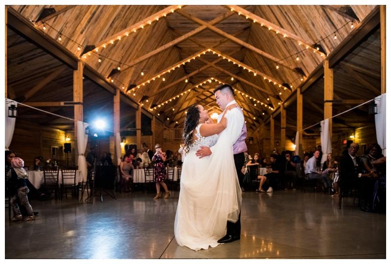 First Dance Wedding Photos - Willow Lane Barn