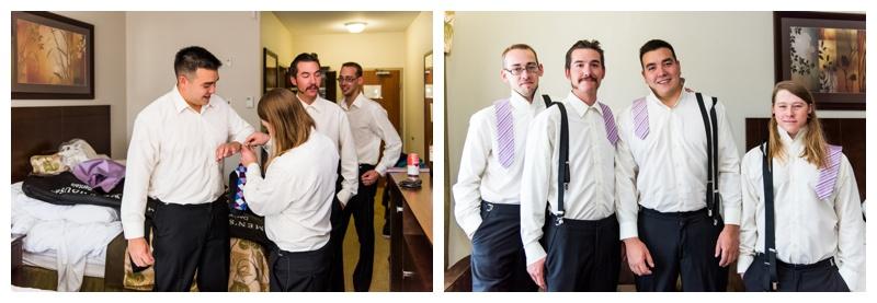 Groom Prep Wedding Photography - Willow Lane Barn