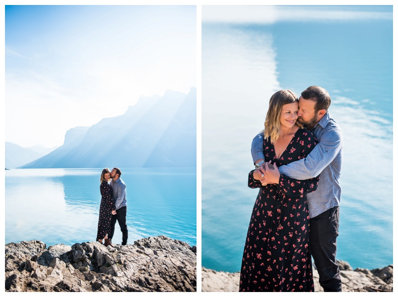 Lake Minniwanka Couple Photography