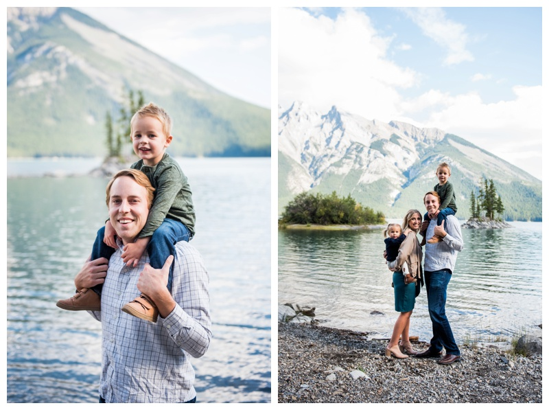 Lake Minniwanka Family Photos Banff