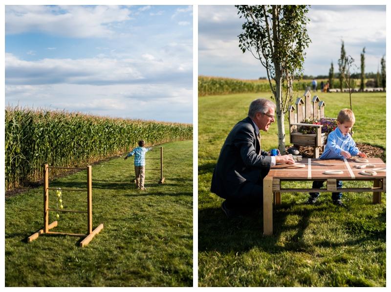 Lawn Games at Wedding - Willow Lane Barn