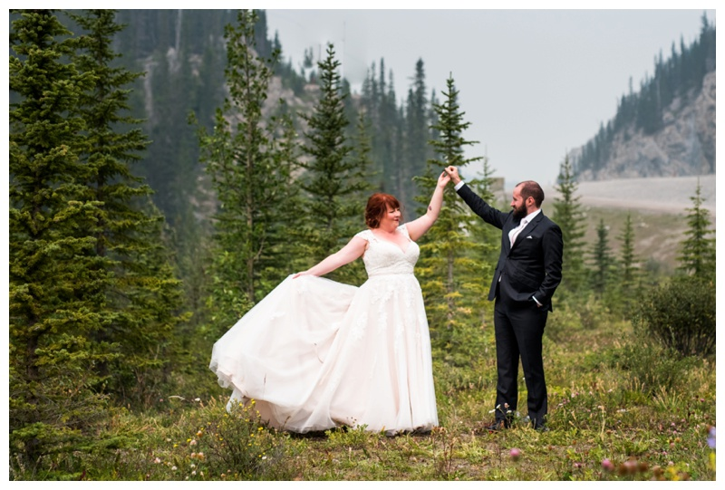 Mountain Wedding Canmore Alberta