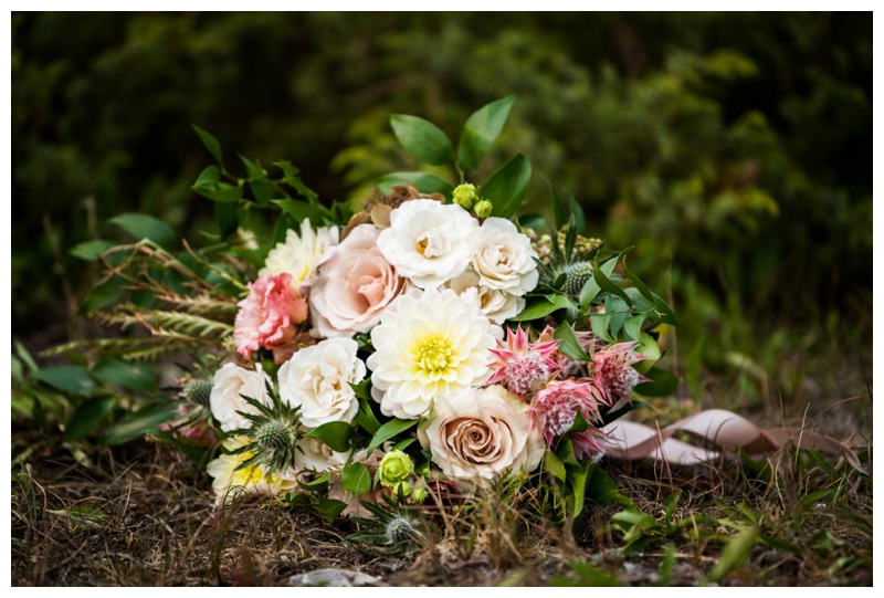 Mountain Wedding Details - Canmore Wedding
