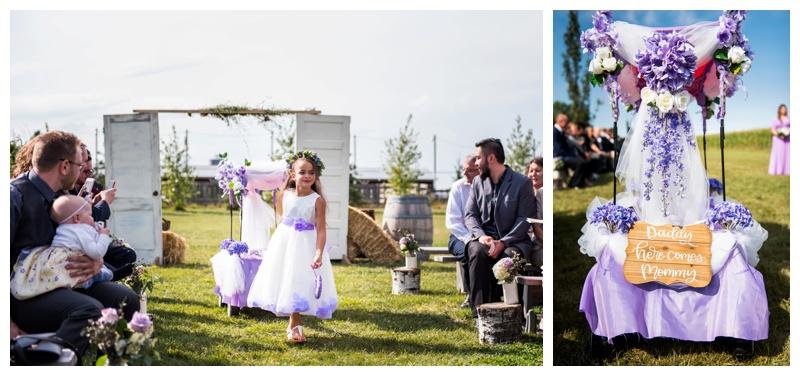 Outdoor Weding Ceremonies - Willow Lane Barn