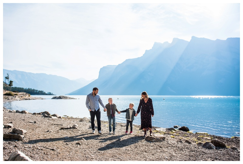 Rocky Mountain Lake Family Session