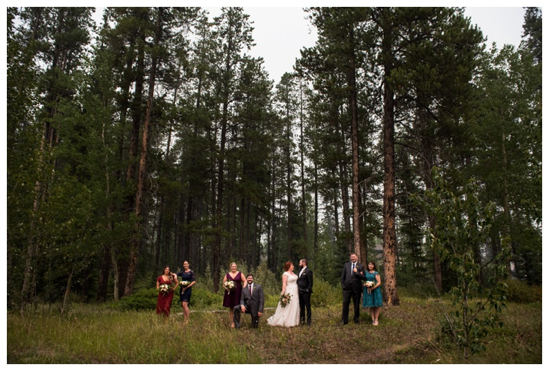 Wedding Party Photography - Canmore Wedding Photographers