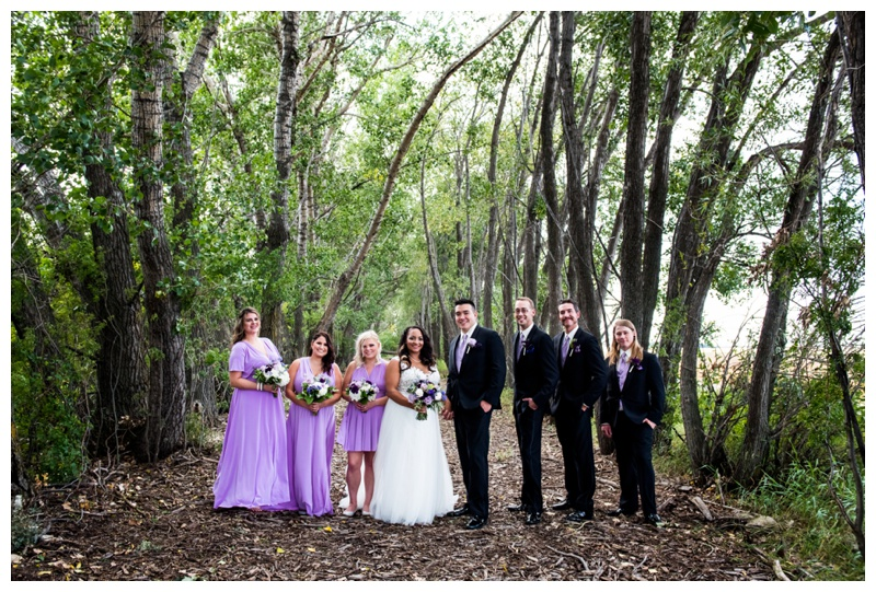 Wedding Party Photography - Willow Lane Barn