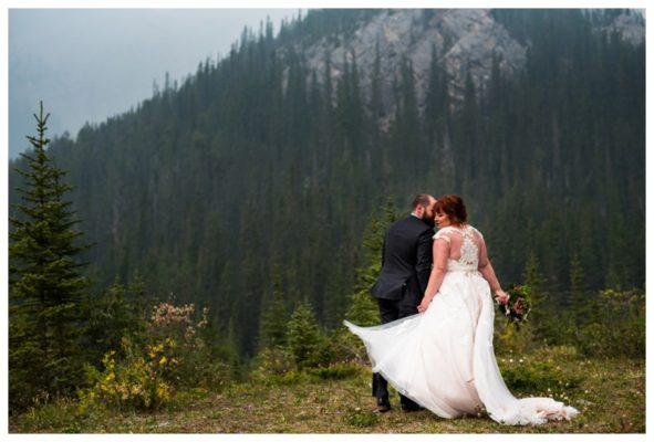 Canmore Murrietas Restaurant Wedding | Neal & Rosalyn | Canmore Wedding Photographer