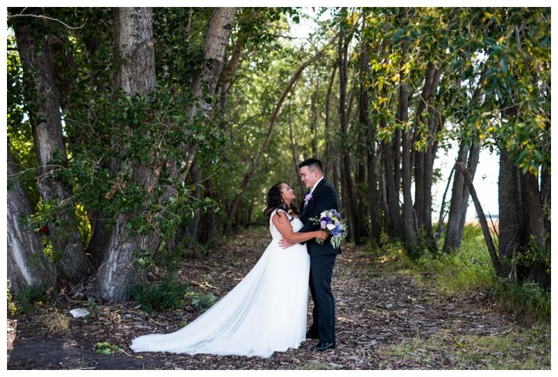 Willow Lane Barn Olds Alberta - Bride & Groom