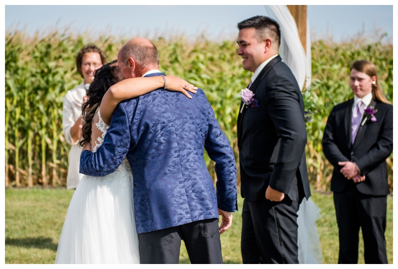 Willow Lane Barn Wedding Ceremony - Olds Albreta