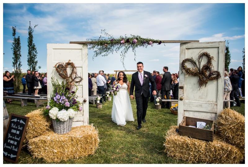 Willow Lane Barn Wedding - Olds Wedding Photographer