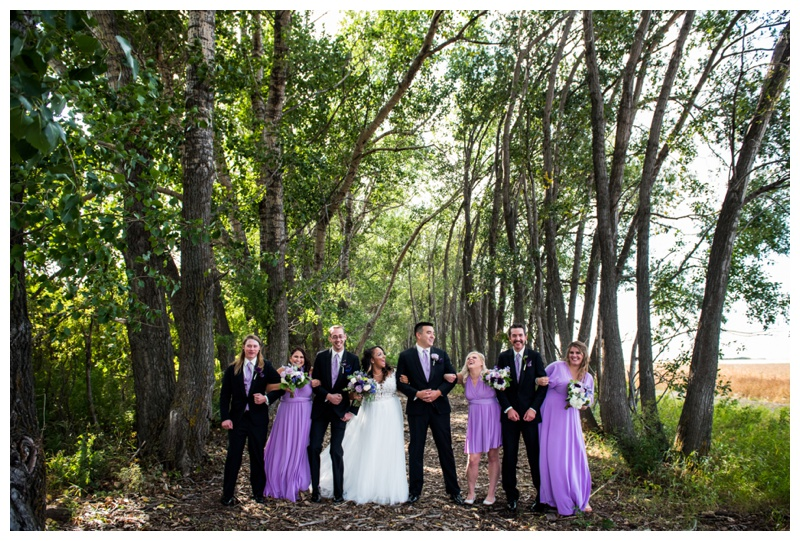 Willow Lane Barn Wedding Paty Photos
