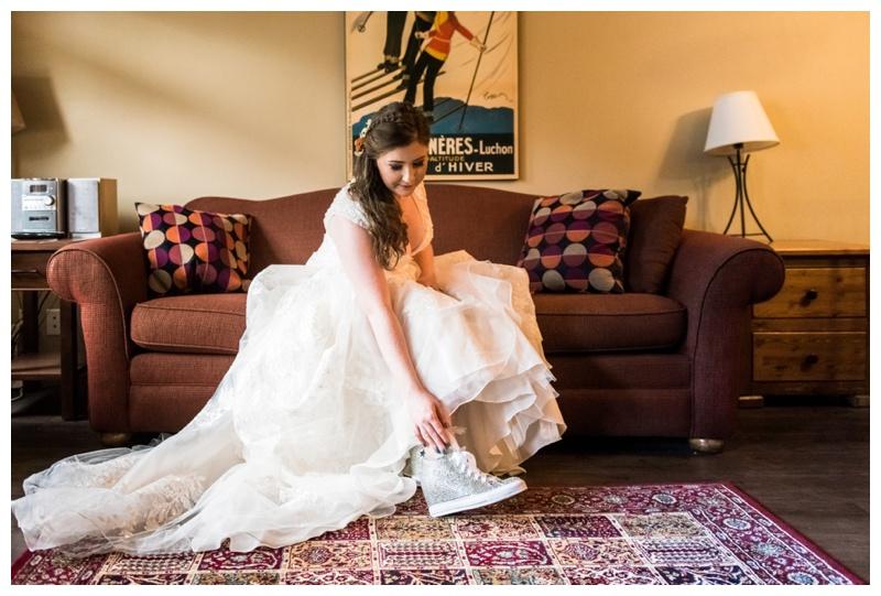 Bridal Prep Wedding Details - Canmore Alberta