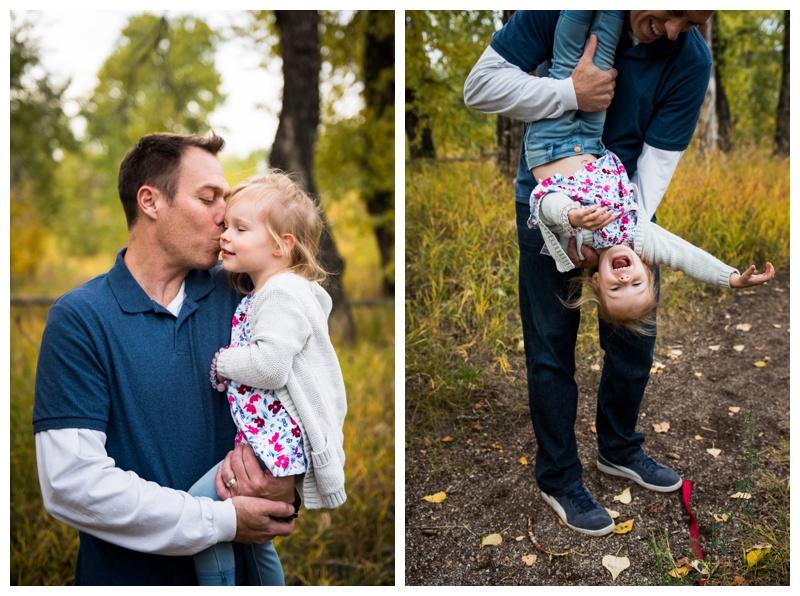 Calgary Fall Pearce Estate Park Family Photography
