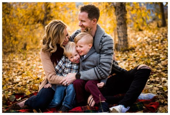 Prince's Island Park Fall Family Session | The Shanks | Calgary Family Photographer