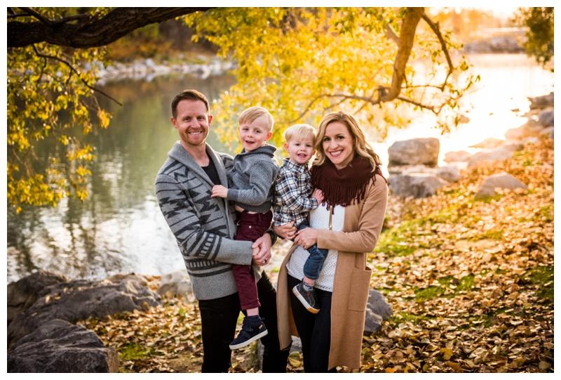 Calgary Family Photographer - Princes Island Park