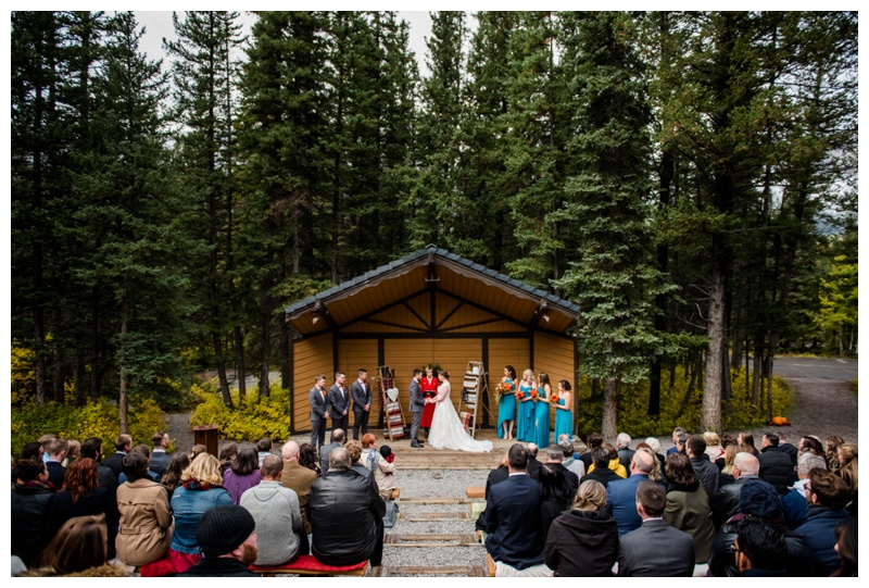 Bow Valley Campground Mountain Wedding