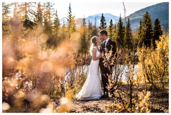 Mount Loretta Ponds Intimate Wedding | Justin & Jacqueline | Kananaskis Wedding Photographer