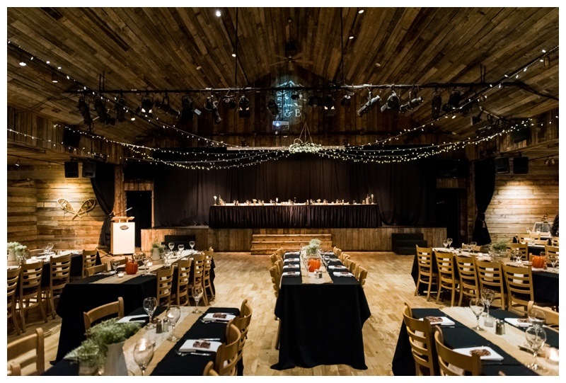 Cornerstone Wedding Reception Canmore Alberta