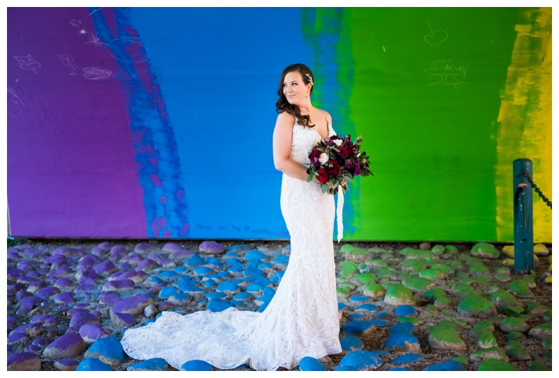 Downtown Calgary Wedding Photography - Bridal Portrait