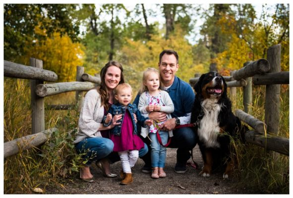 Fall Pearce Estate Park Family Session | The Kimmins | Calgary Family Photographer
