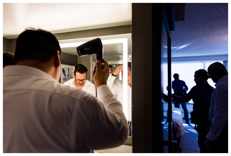 Groom Prep Photography - Calgary Wedding Photographer