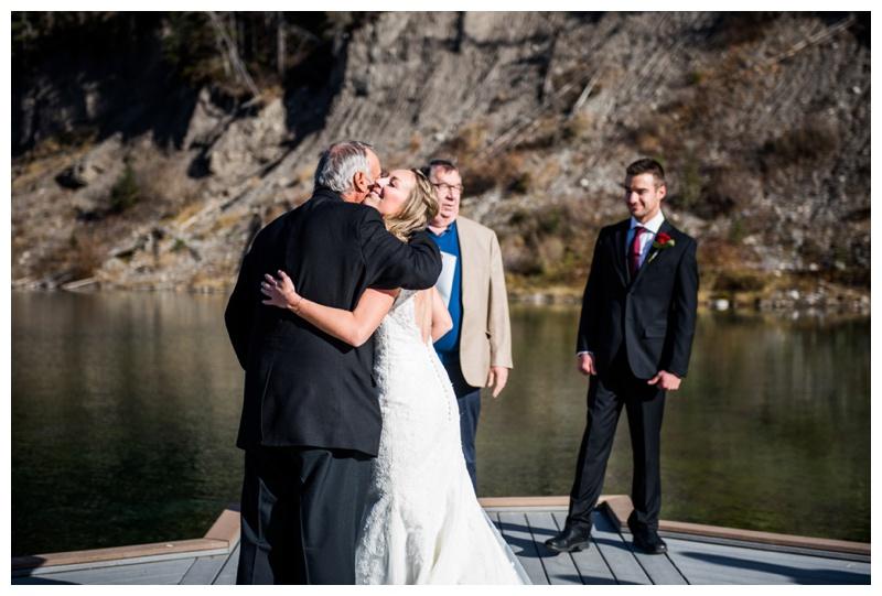 Intimate Wedding Ceremony - Mount Loretta Ponds